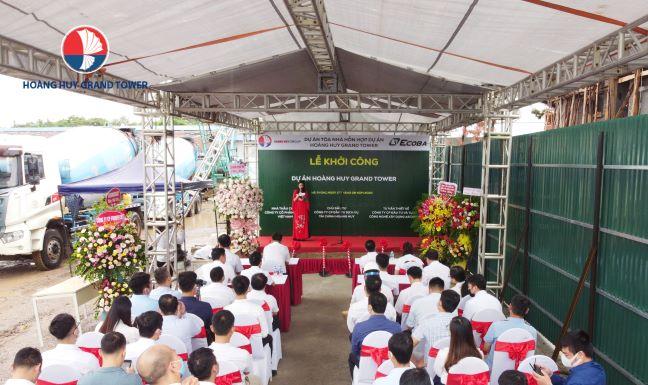 Lễ khởi công dự án Hoàng Huy Grand Tower - Duyên Hải LAND