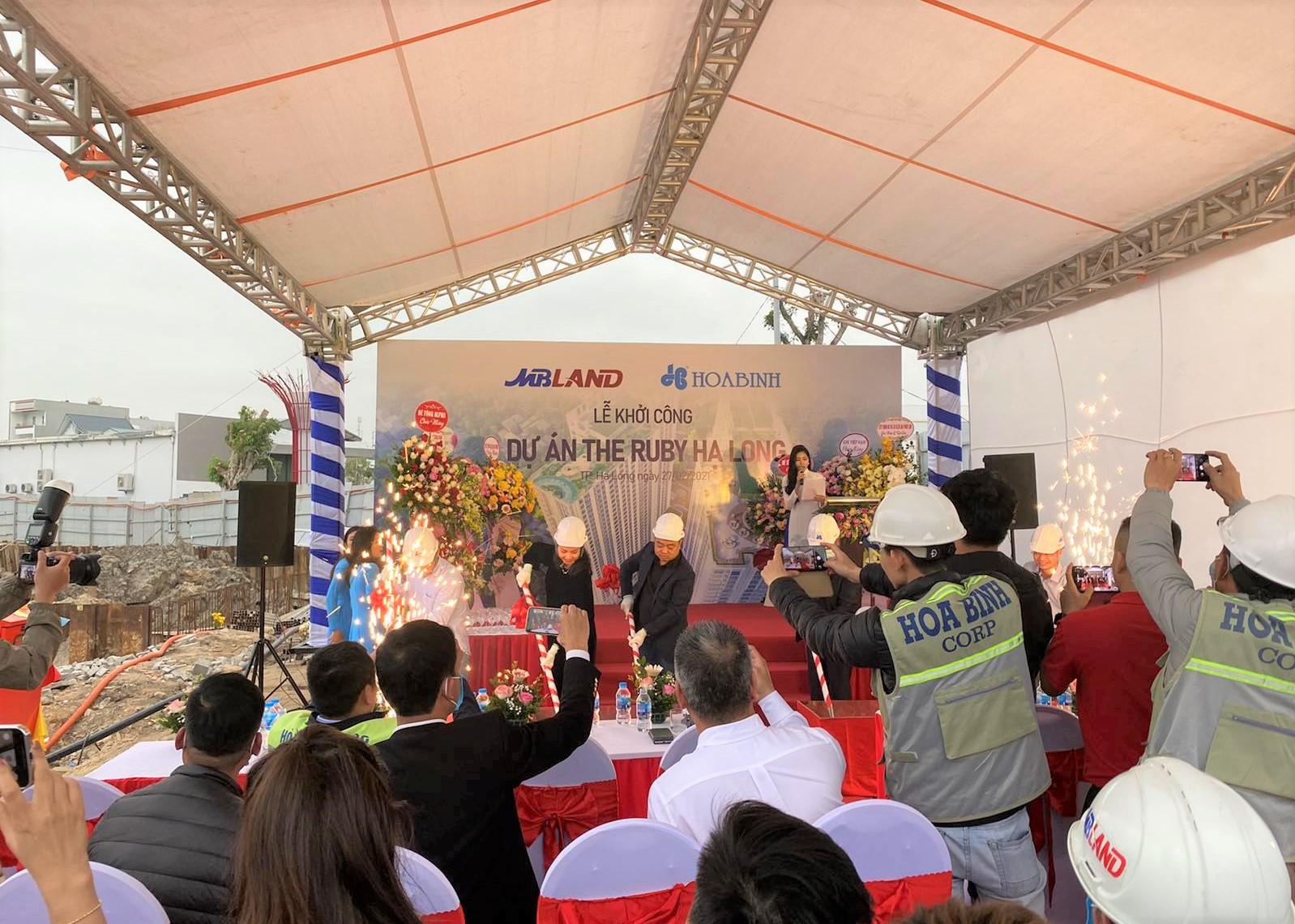 The Ruby Hạ Long Lễ kí kết hợp tác chiến lược giữa MB Land & Hòa Bình
