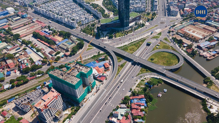 Tiến độ thi công chung cư Hoàng Huy Grand Tower
