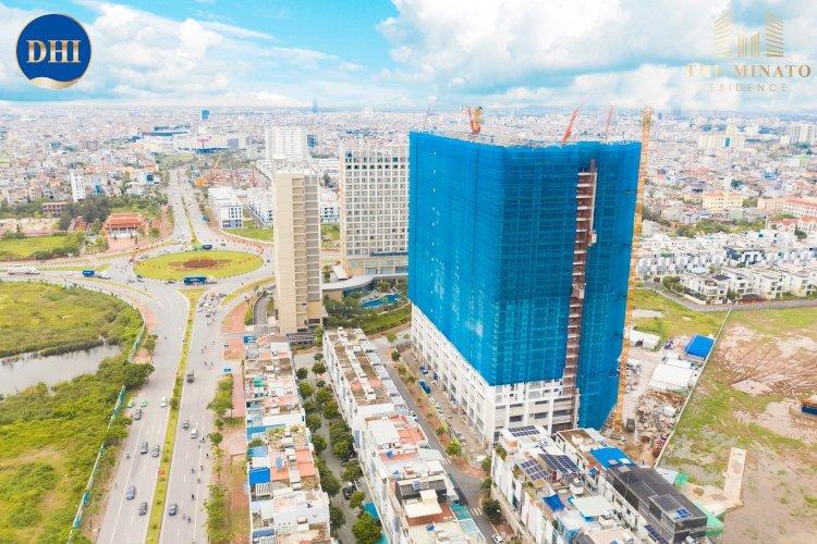 The Minato Residence: Một số hình ảnh cập nhật tiến độ thi công tháng 6/2021